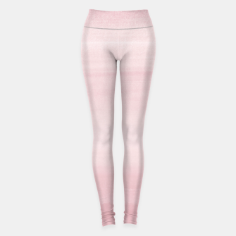 Miniatur Touching Blush Watercolor Abstract #1 #painting #decor #art Leggings, Live Heroes