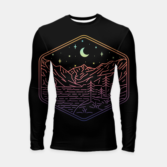 Thumbnail image of Great Night Longsleeve rashguard , Live Heroes