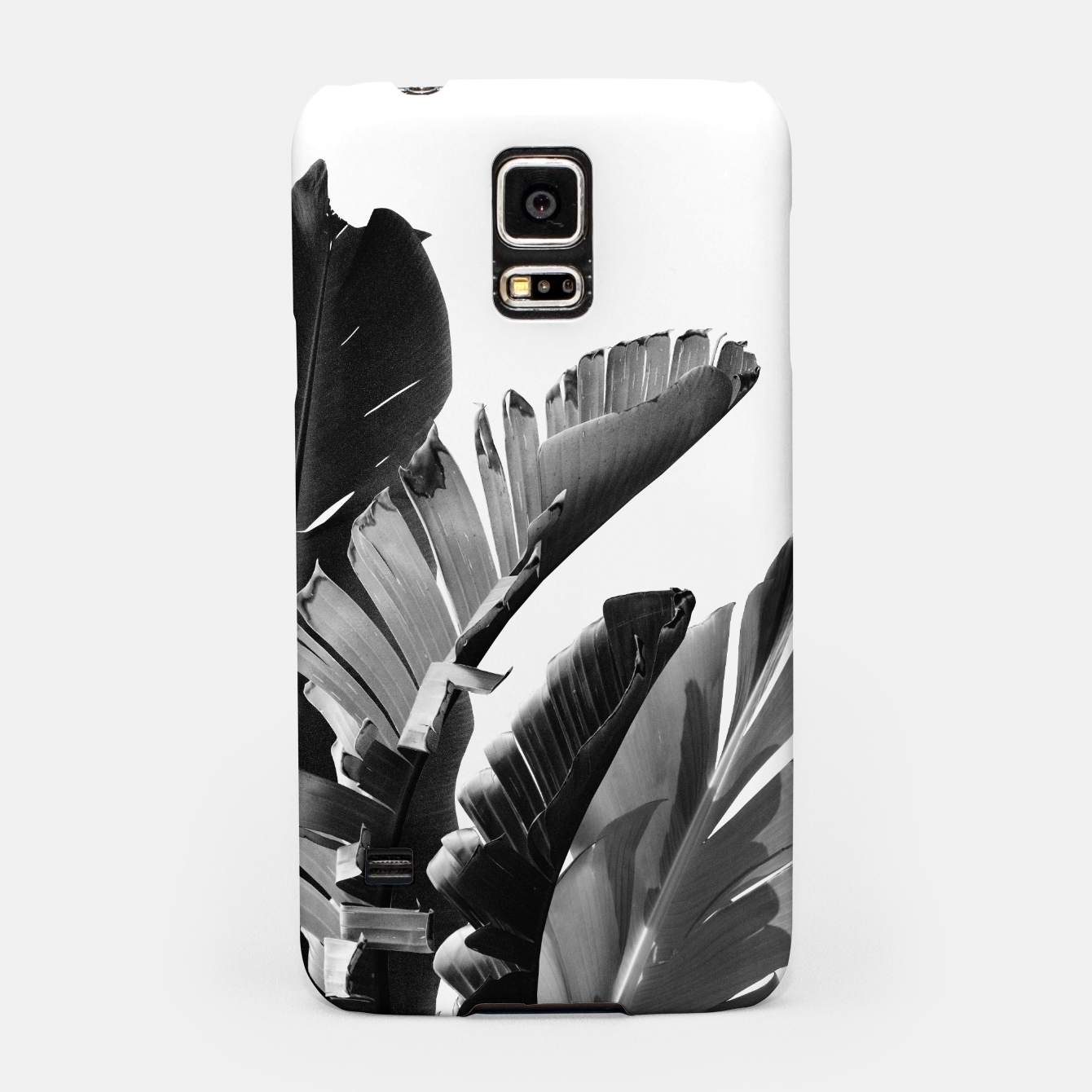 Zdjęcie Banana Leaves Finesse #2 #tropical #decor #art Handyhülle für Samsung - Live Heroes