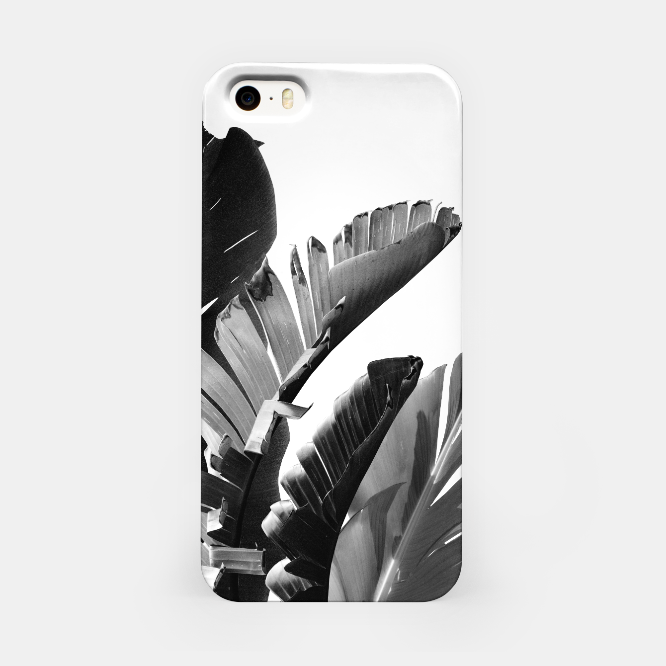 Image of Banana Leaves Finesse #2 #tropical #decor #art iPhone-Hülle - Live Heroes