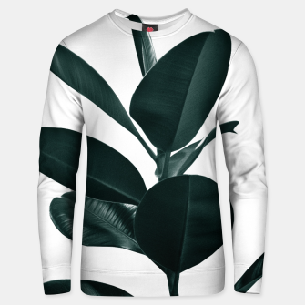 Miniature de image de Ficus Finesse #1 #tropical #decor #art  Unisex sweatshirt, Live Heroes