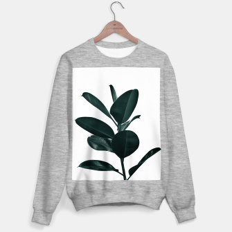 Ficus Finesse #1 #tropical #decor #art  Sweatshirt regulär obraz miniatury