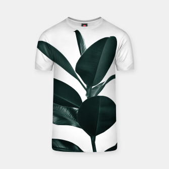 Miniaturka Ficus Finesse #1 #tropical #decor #art  T-Shirt, Live Heroes
