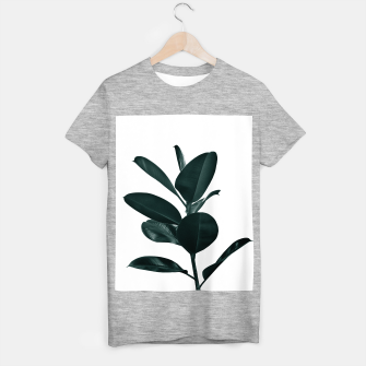 Ficus Finesse #1 #tropical #decor #art  T-Shirt regulär obraz miniatury
