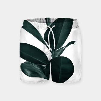 Ficus Finesse #1 #tropical #decor #art  Badeshorts thumbnail image