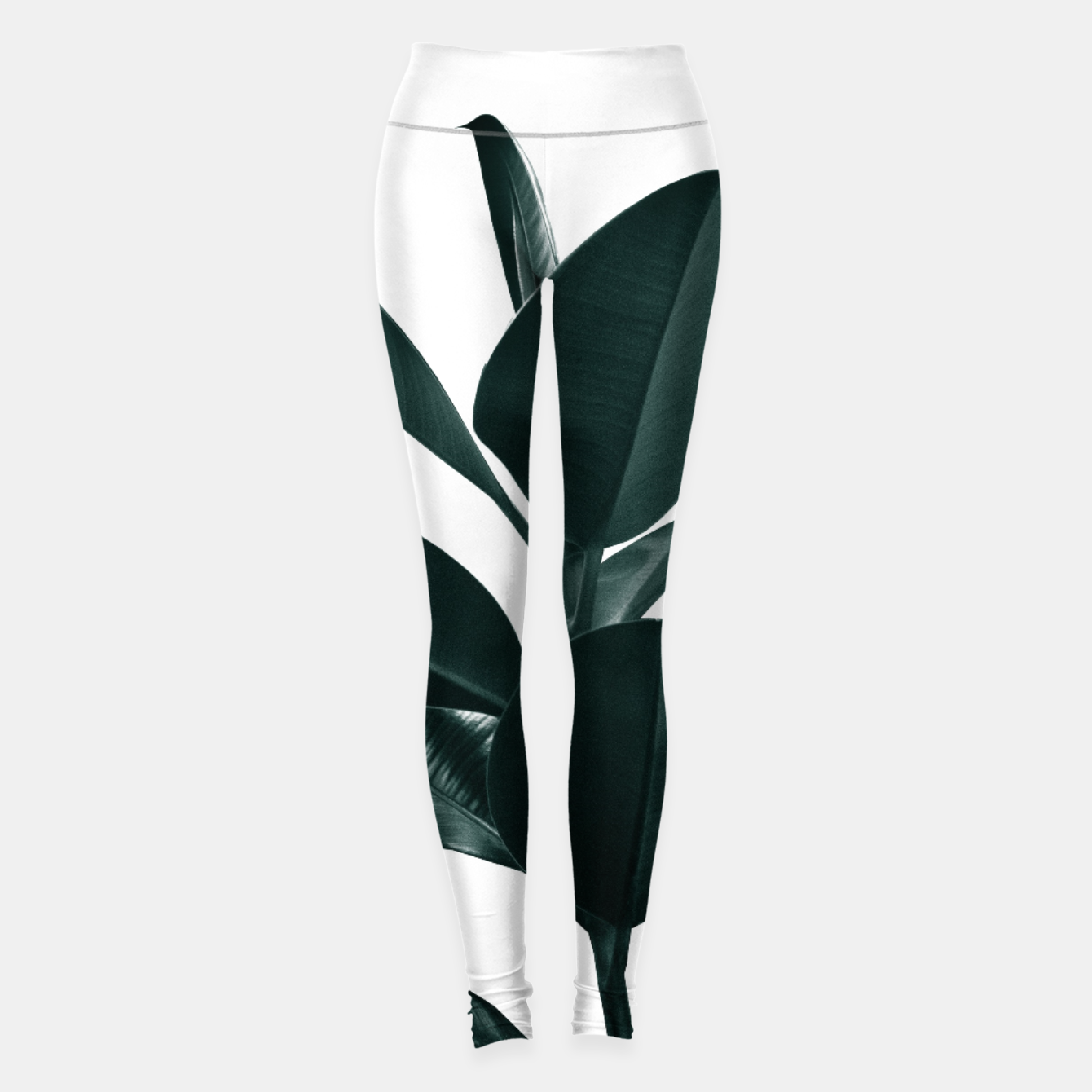Zdjęcie Ficus Finesse #1 #tropical #decor #art  Leggings - Live Heroes