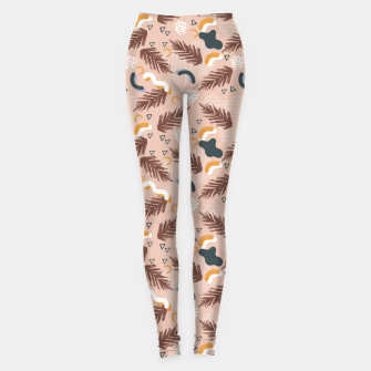 Miniature de image de Art line memphis nature Leggings, Live Heroes