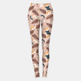 Miniatur Art line memphis nature Leggings, Live Heroes