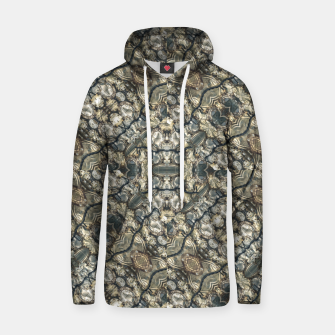 Thumbnail image of Urban Art Textured Print Pattern Hoodie, Live Heroes