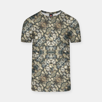 Urban Art Textured Print Pattern T-shirt obraz miniatury