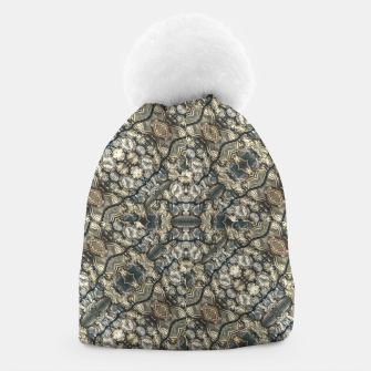 Thumbnail image of Urban Art Textured Print Pattern Beanie, Live Heroes