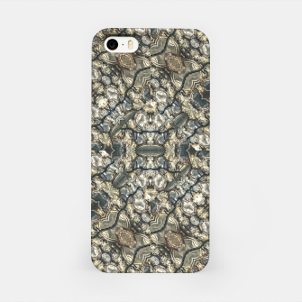 Miniatur Urban Art Textured Print Pattern iPhone Case, Live Heroes