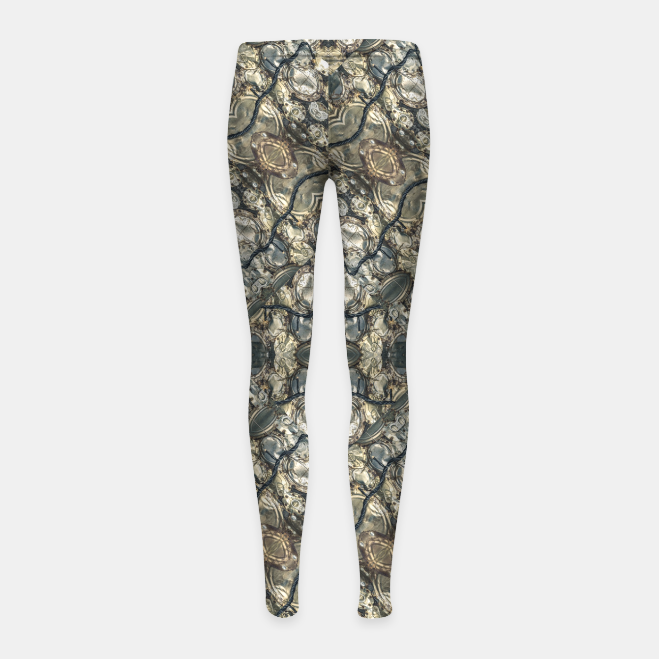 Zdjęcie Urban Art Textured Print Pattern Girl's leggings - Live Heroes