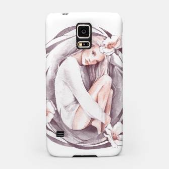 Miniature de image de Eve. Watercolor Samsung Case, Live Heroes