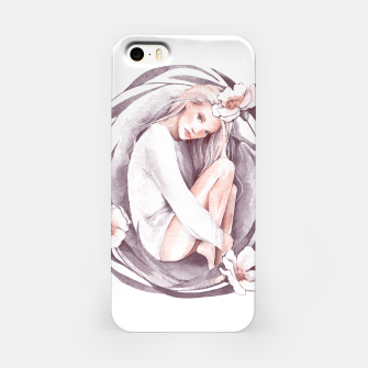 Miniature de image de Eve. Watercolor iPhone Case, Live Heroes