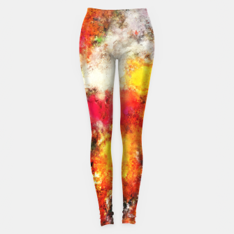 Thumbnail image of Hiding the truth Leggings, Live Heroes