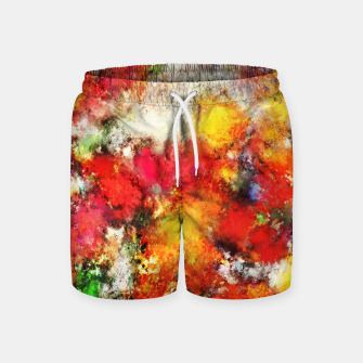 Hiding the truth Swim Shorts thumbnail image