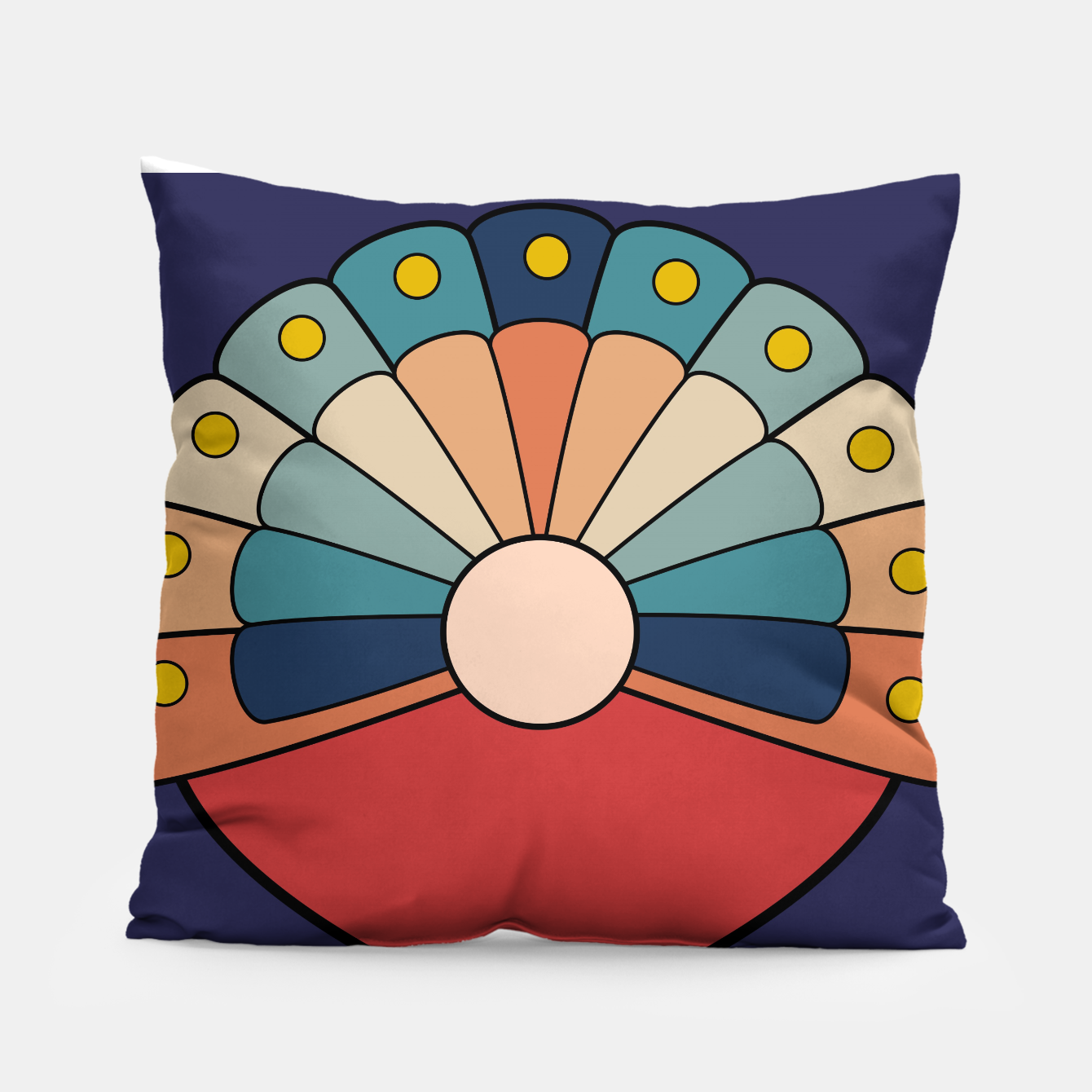 Image of zappwaits - logo Pillow - Live Heroes