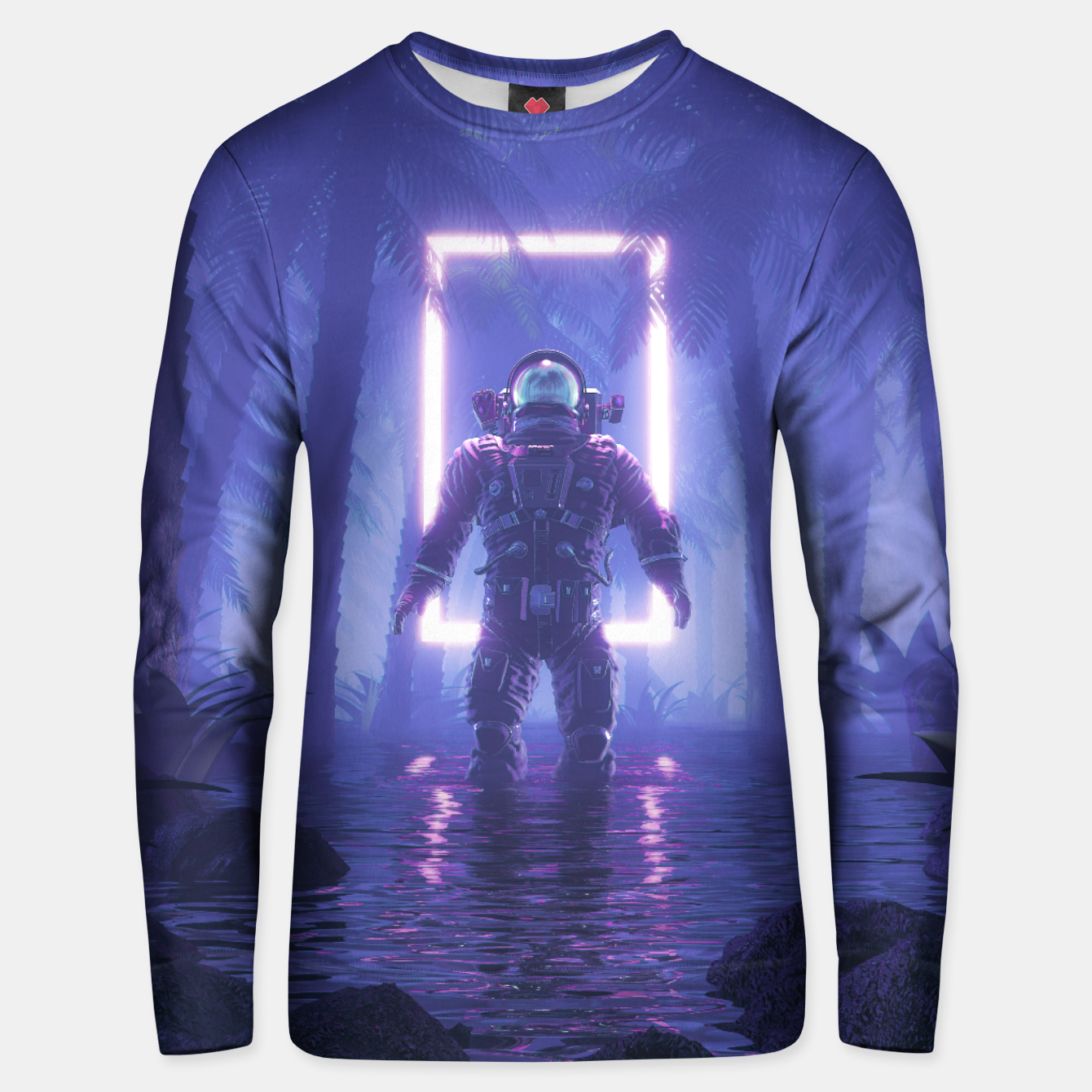 Image of Lost In The Neon Jungle Unisex sweater - Live Heroes