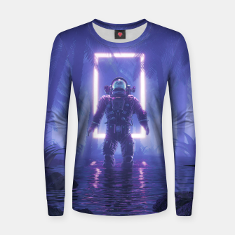 Thumbnail image of Lost In The Neon Jungle Women sweater, Live Heroes
