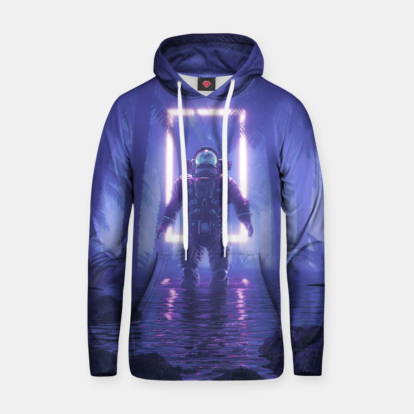Image of Lost In The Neon Jungle Hoodie - Live Heroes