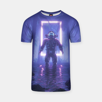 Thumbnail image of Lost In The Neon Jungle T-shirt, Live Heroes