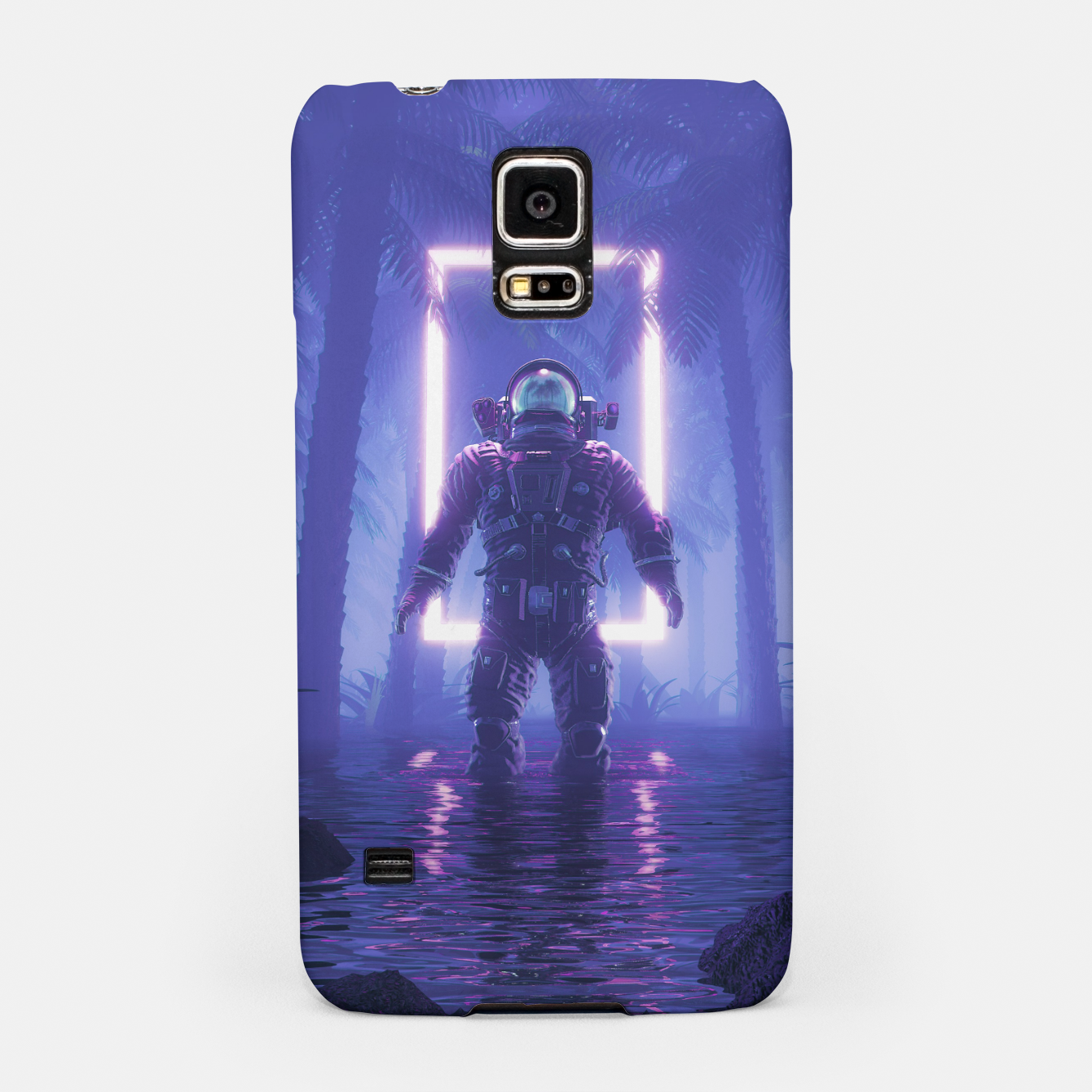 Foto Lost In The Neon Jungle Samsung Case - Live Heroes