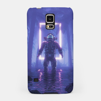 Miniatur Lost In The Neon Jungle Samsung Case, Live Heroes