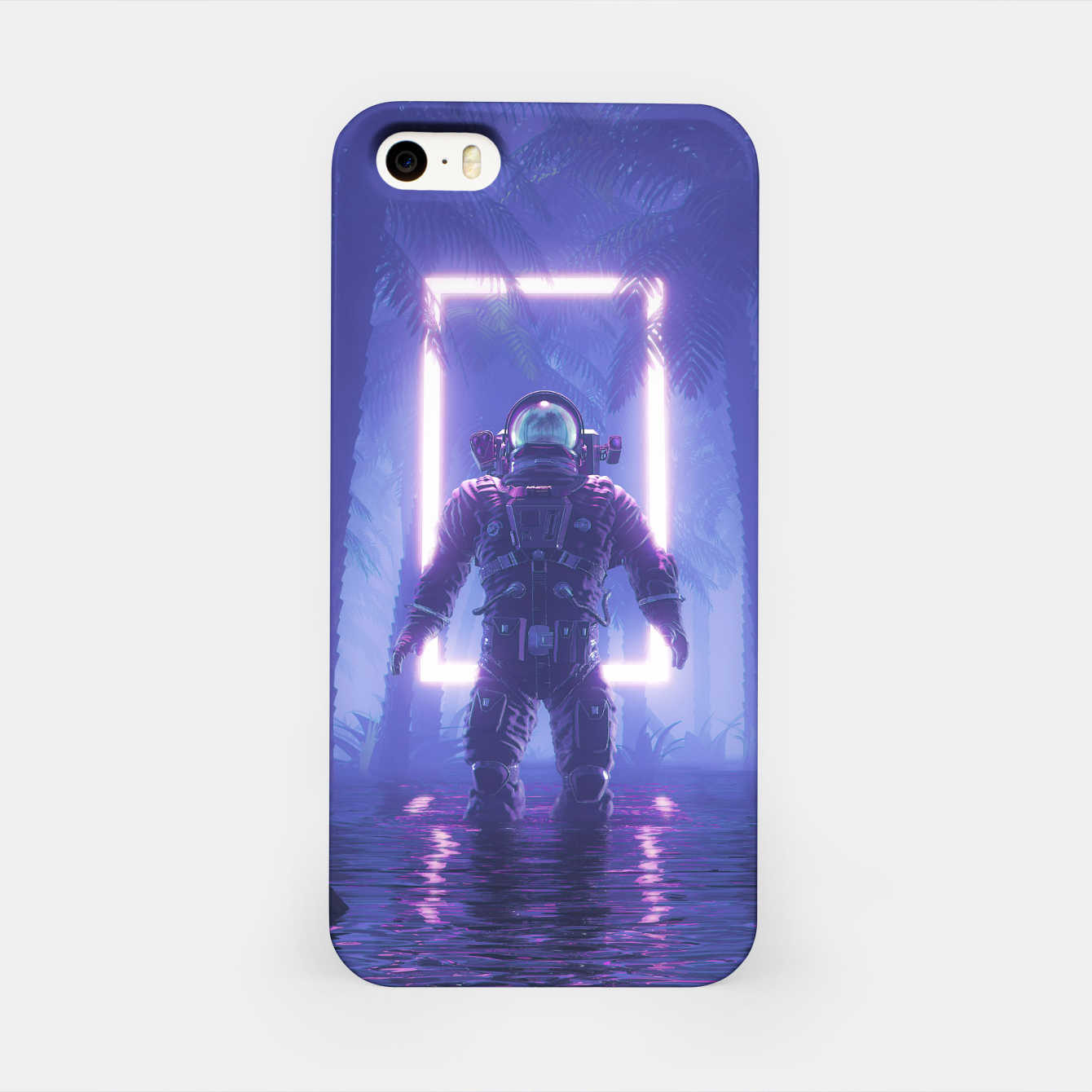 Foto Lost In The Neon Jungle iPhone Case - Live Heroes