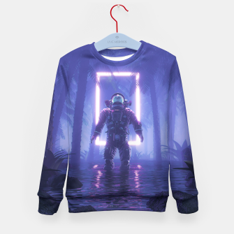Lost In The Neon Jungle Kid's sweater thumbnail image