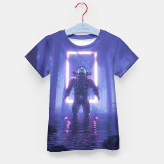 Lost In The Neon Jungle Kid's t-shirt thumbnail image