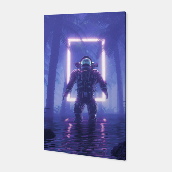 Lost In The Neon Jungle Canvas thumbnail image