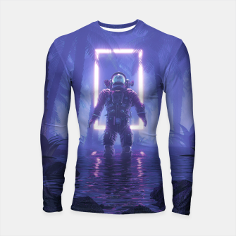 Thumbnail image of Lost In The Neon Jungle Longsleeve rashguard , Live Heroes