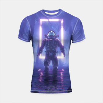 Thumbnail image of Lost In The Neon Jungle Shortsleeve rashguard, Live Heroes