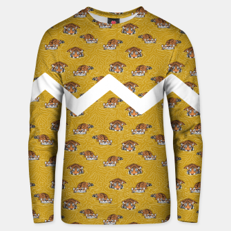 Thumbnail image of Tigers in the water II Sudadera unisex, Live Heroes