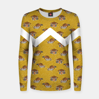 Thumbnail image of Tigers in the water II Sudadera para mujeres, Live Heroes
