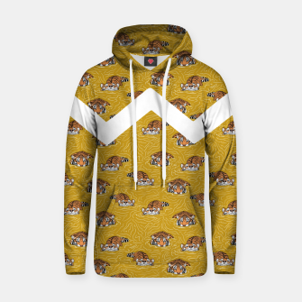 Thumbnail image of Tigers in the water II Sudadera con capucha, Live Heroes