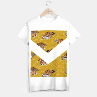 Thumbnail image of Tigers in the water II Camiseta Regular, Live Heroes