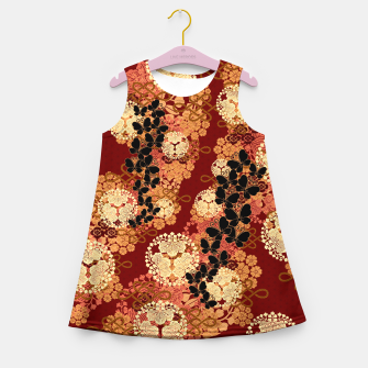 Thumbnail image of Japanese traditional family crest art. Girl's summer dress, Live Heroes