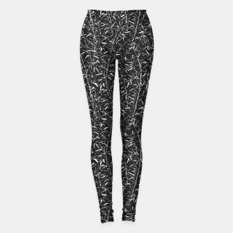Miniaturka Black Bamboo in Monochrome Leggings, Live Heroes