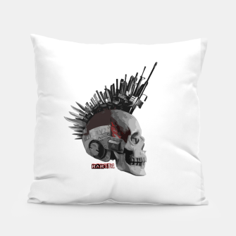 Thumbnail image of PunkCyberSkull Pillow, Live Heroes