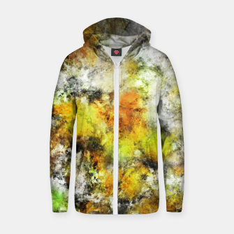 Thumbnail image of Winter sunlight Zip up hoodie, Live Heroes