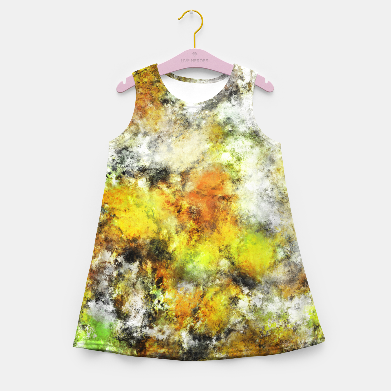 Image of Winter sunlight Girl's summer dress - Live Heroes