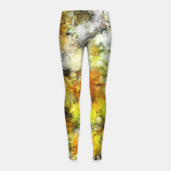 Thumbnail image of Winter sunlight Girl's leggings, Live Heroes