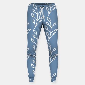 Feeling of lightness Pattern - Steel Blue Sweatpants thumbnail image