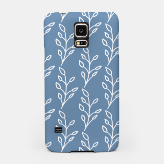 Feeling of lightness Pattern - Steel Blue Samsung Case thumbnail image