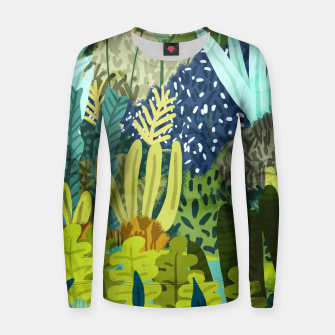 Thumbnail image of Wild Jungle II Women sweater, Live Heroes