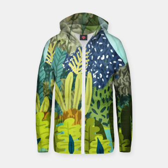 Thumbnail image of Wild Jungle II Zip up hoodie, Live Heroes