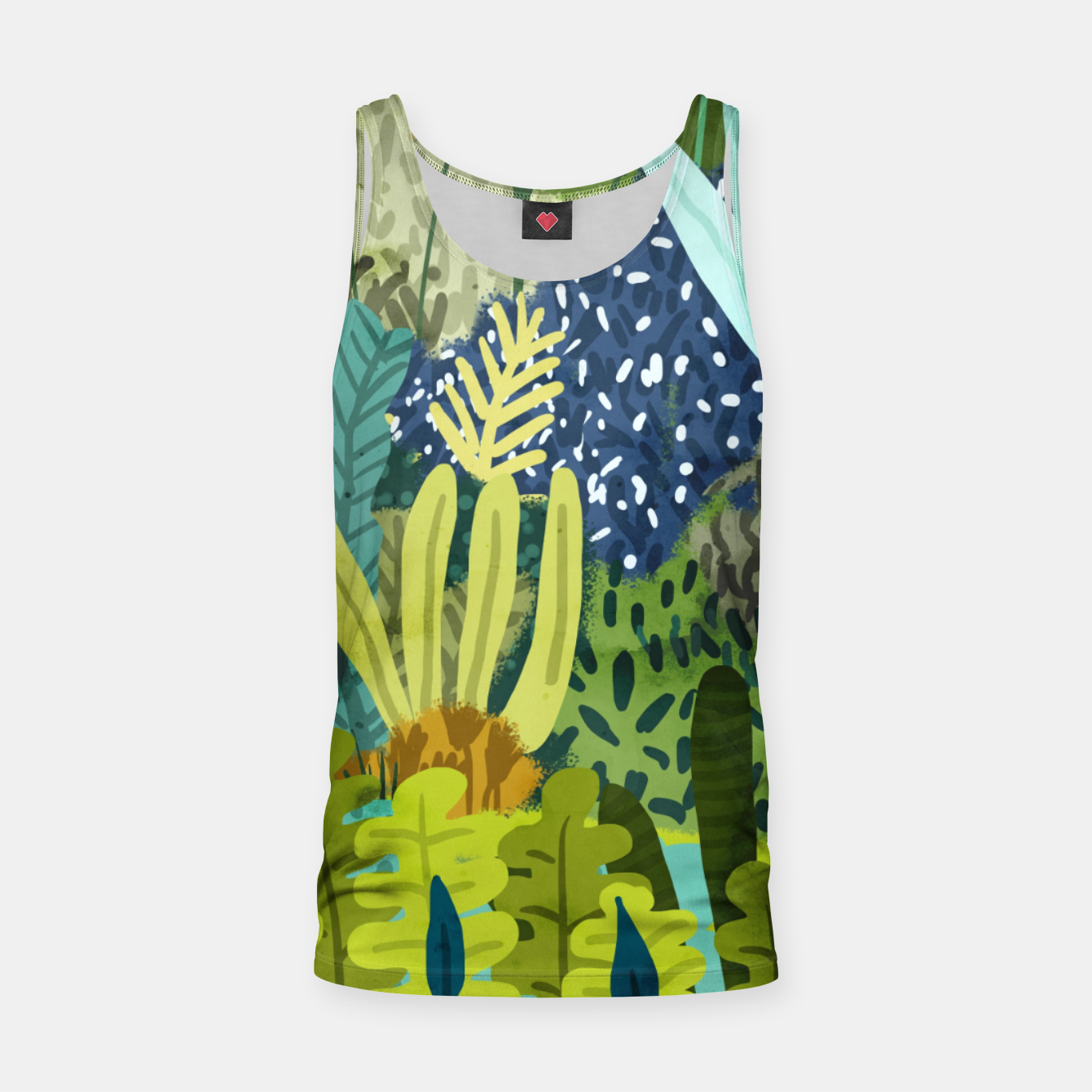 Image of Wild Jungle II Tank Top - Live Heroes