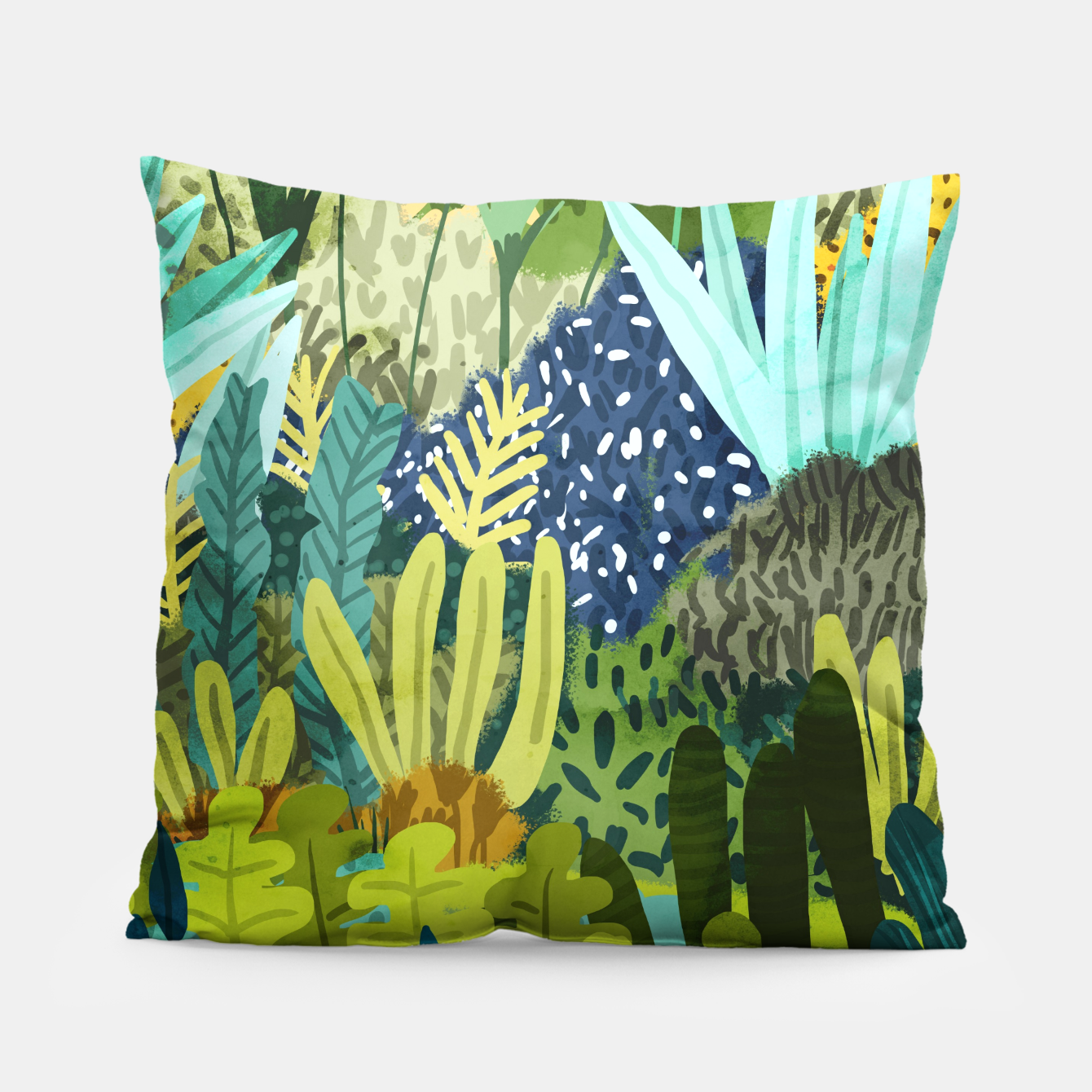 Image of Wild Jungle II Pillow - Live Heroes